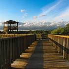 dock with open skies